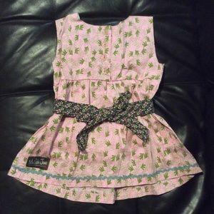 Matilda Jane Matching Sets - Matilda Jane House of Clouds Tunic & Ruffle Pant 6